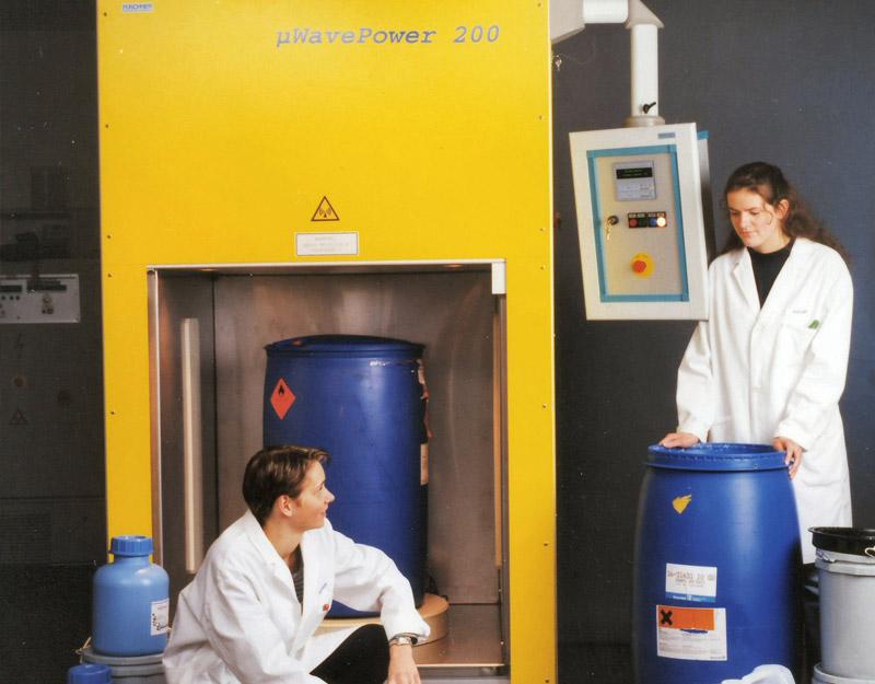 µWavePower200 Erwärmung von kosmetischen Rohstoffen