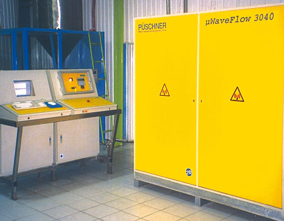 Microwave Flow Heater µWaveFlow3040