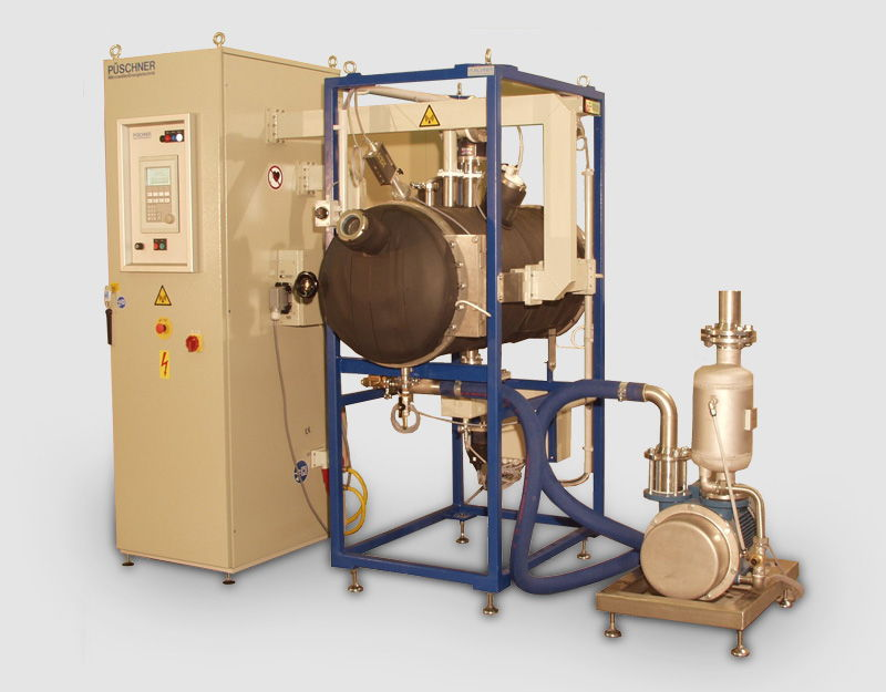 Microwave Vacuum Trial Plant µWaveVac0150